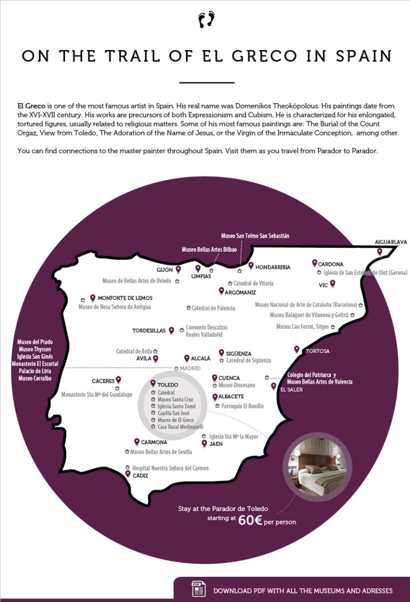 Diseño y maquetación HTML tema cultural en www.parador.es 0