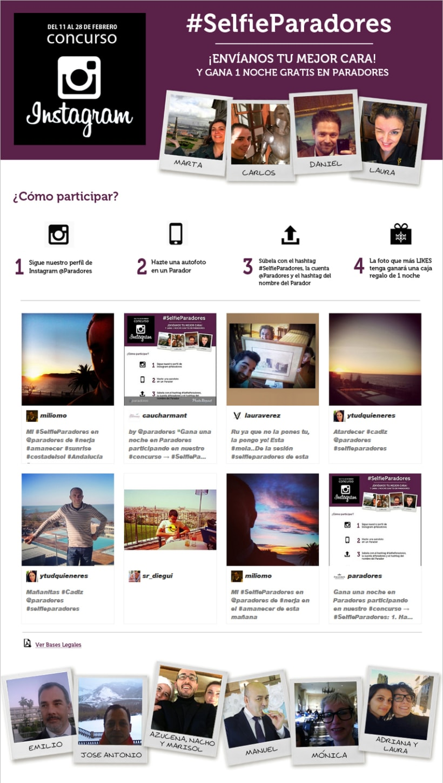 Diseño site corporativo corporativo concurso Instagram 0