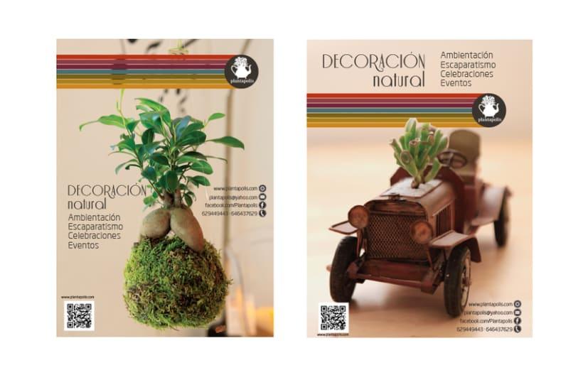 Plantapolis, diseño web y piezas gráficas 4