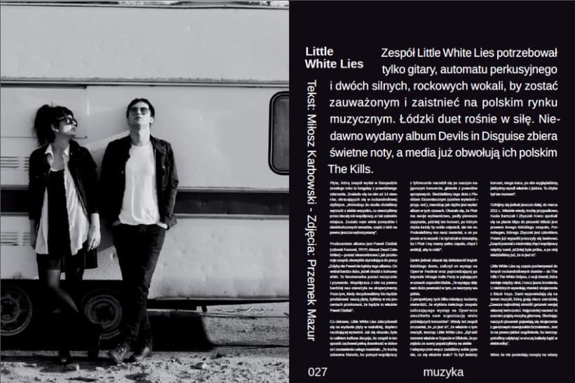 Lados Magazine, maquetación y diseño 2