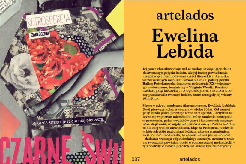 Lados Magazine, maquetación y diseño 3