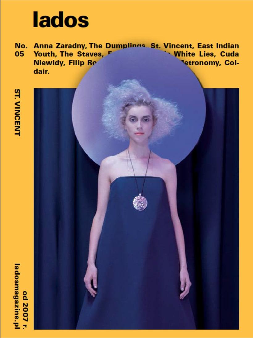 Lados Magazine, maquetación y diseño 0
