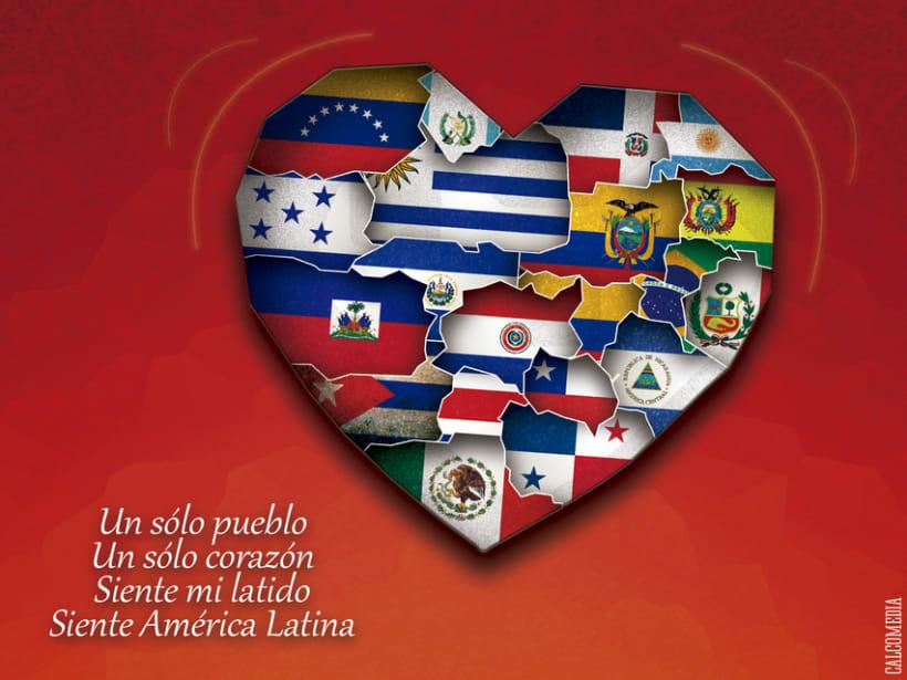 América Latina, un sólo corazón -1
