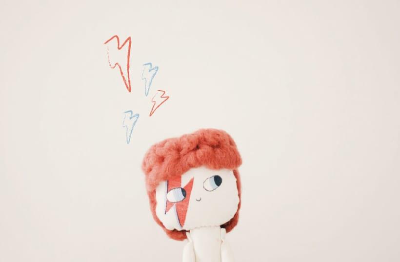 David Bowie Doll 0