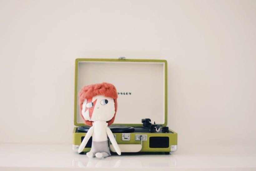 David Bowie Doll 1