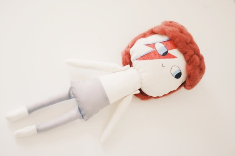 David Bowie Doll 5