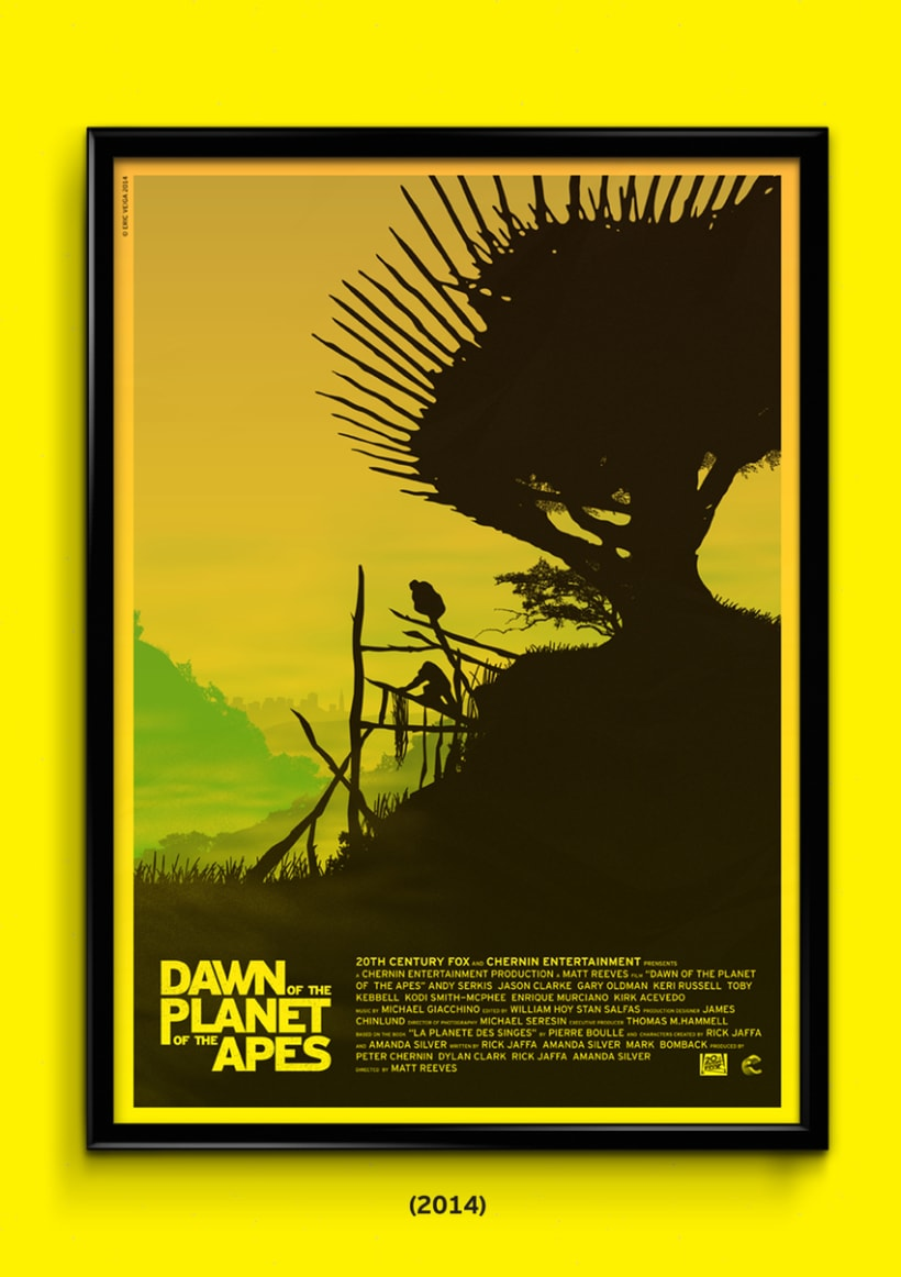 The Planet of the Apes Trilogy 4
