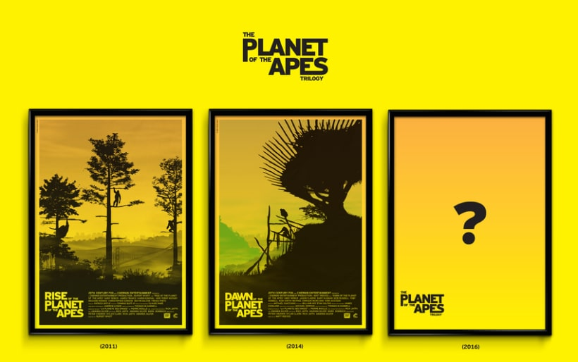 The Planet of the Apes Trilogy 1