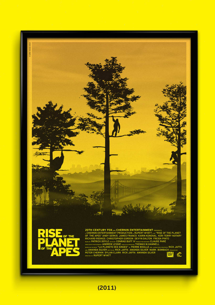 The Planet of the Apes Trilogy 2
