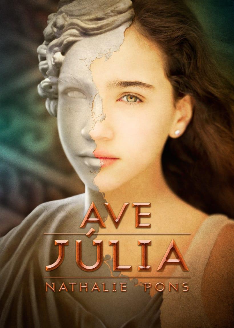 Ave, Júlia book cover 4