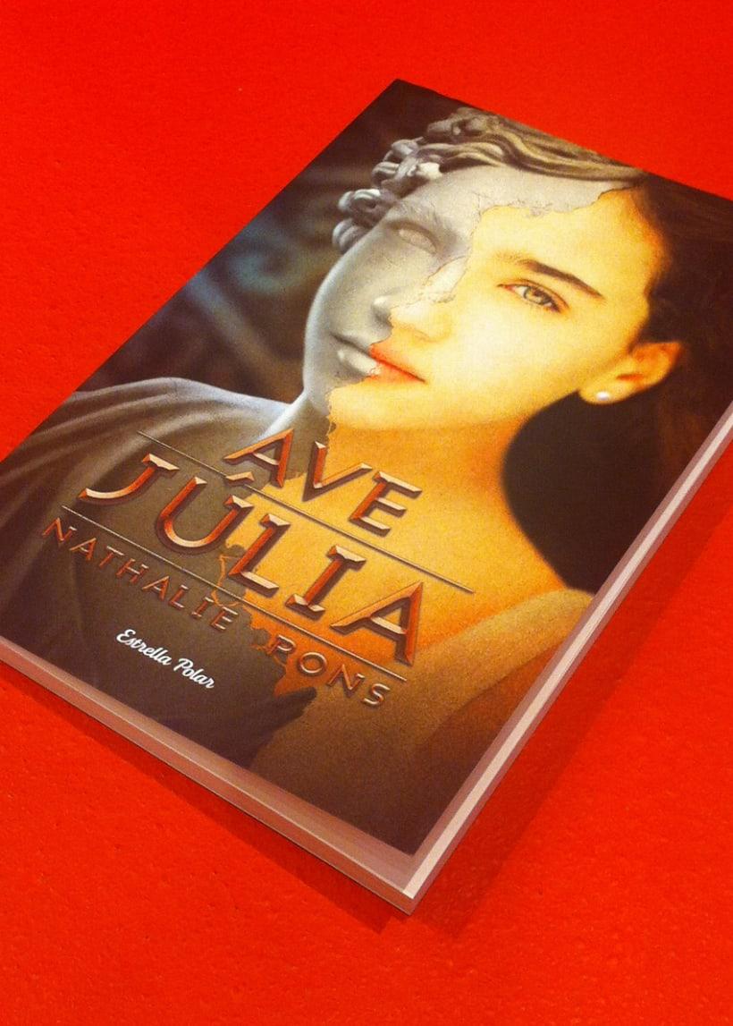 Ave, Júlia book cover 5