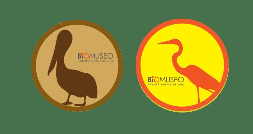 Pegatinas del Biomuseo 0