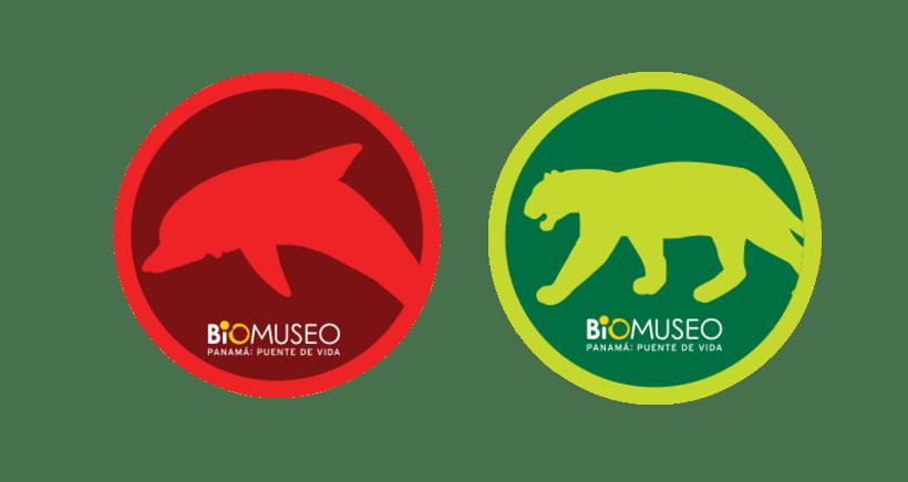 Pegatinas del Biomuseo 1