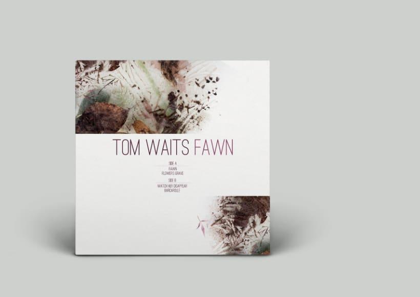 FAWN // Tom Waits // Dirección de arte y composición de bodegón 2