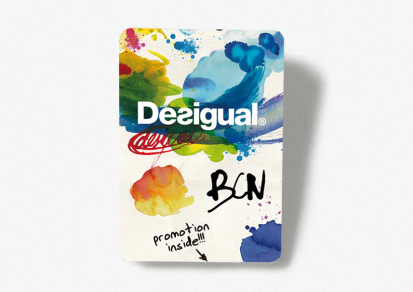 Desigual Barcelona pocket map 2