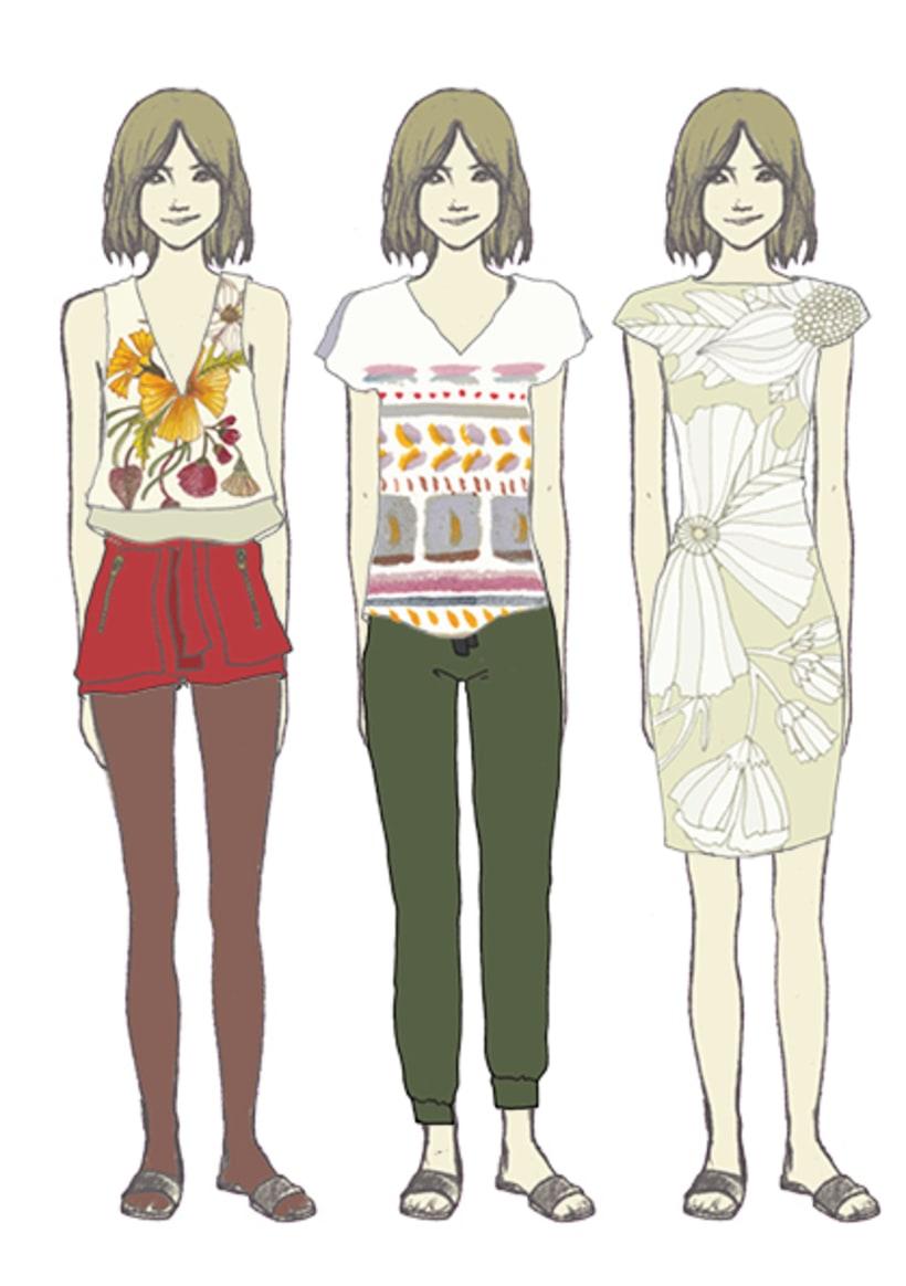 Ilustración e ilustración de moda 7