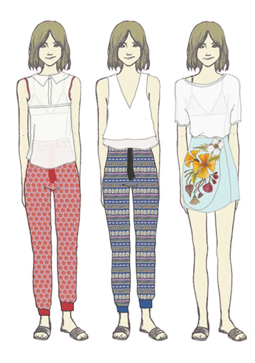 Ilustración e ilustración de moda 6