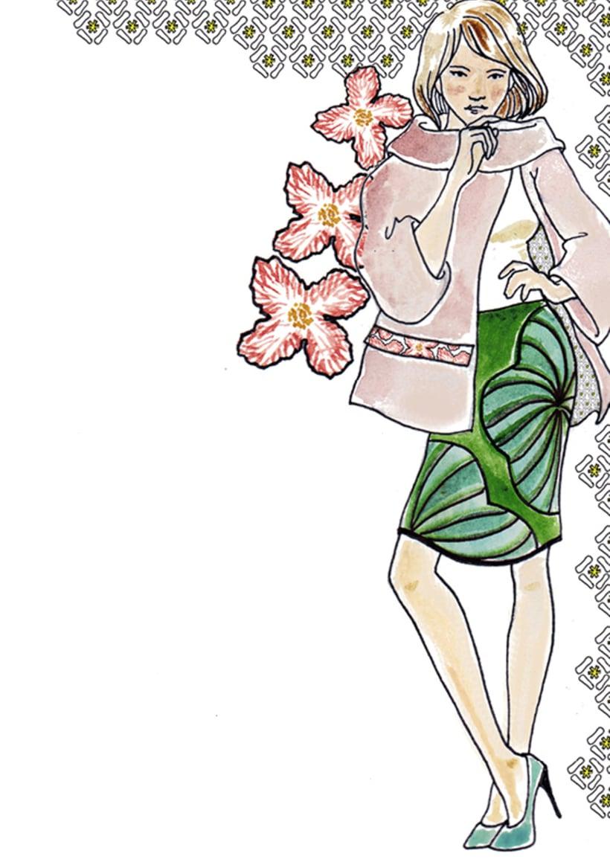 Ilustración e ilustración de moda 11