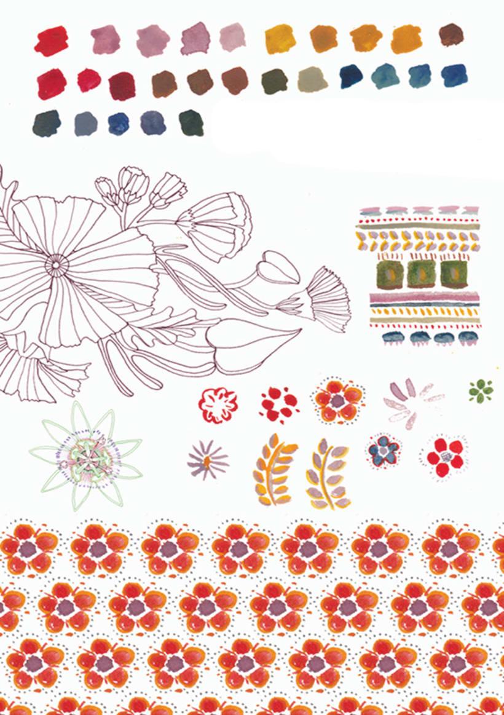 Ilustración e ilustración de moda 14