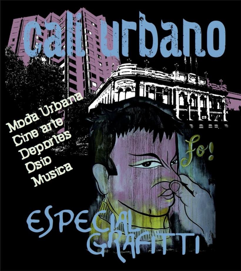 Portada proyecto revista Cali urbano. -1