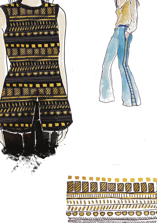 Ilustración e ilustración de moda 9