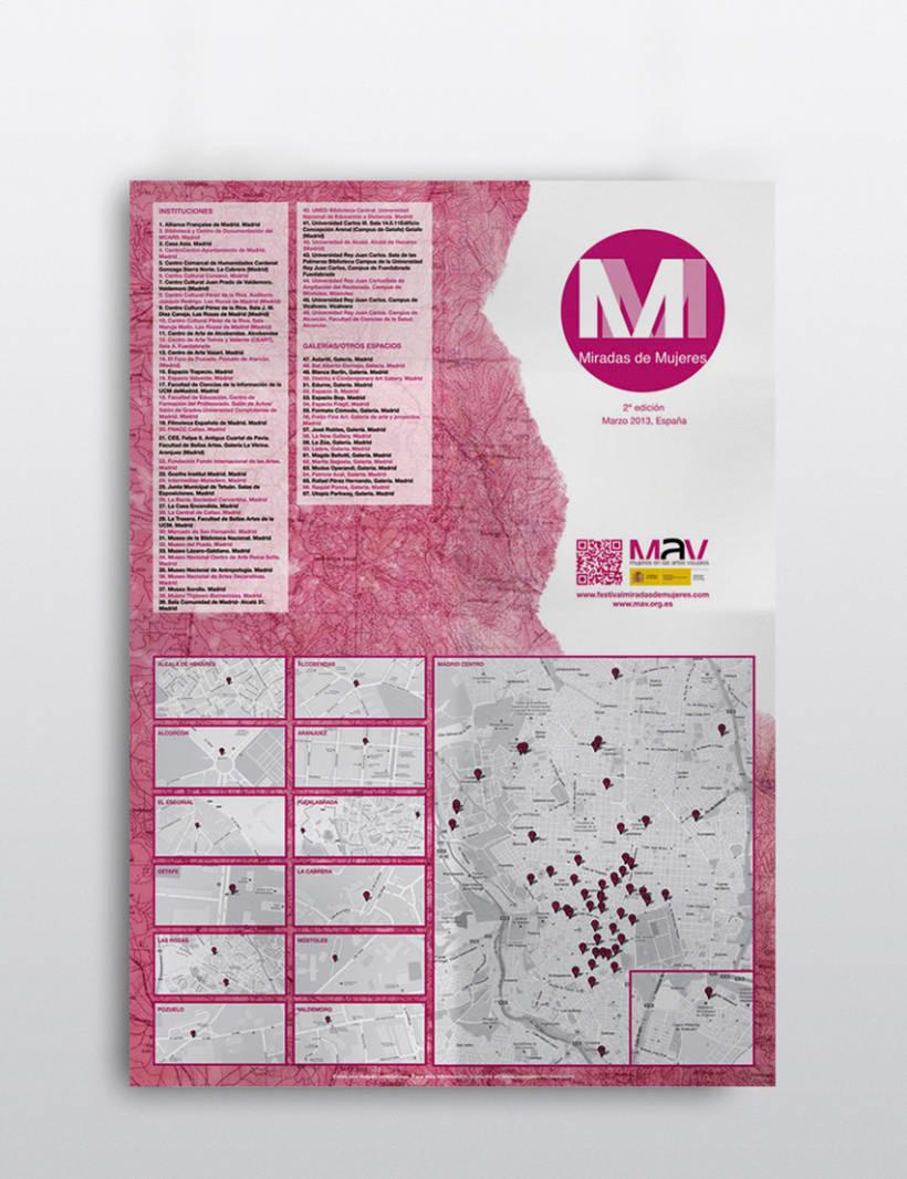 Plano guía para el Festival Miradas de Mujeres 1