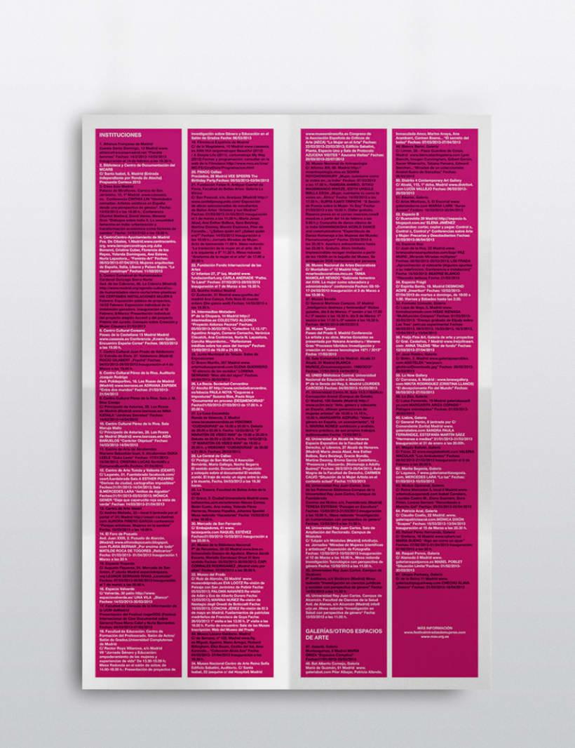 Plano guía para el Festival Miradas de Mujeres 2