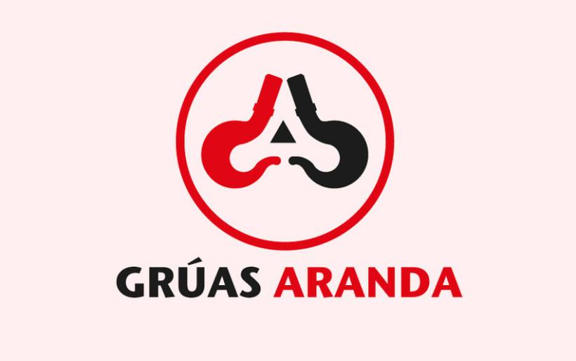 Logotipo Grúas Aranda 0
