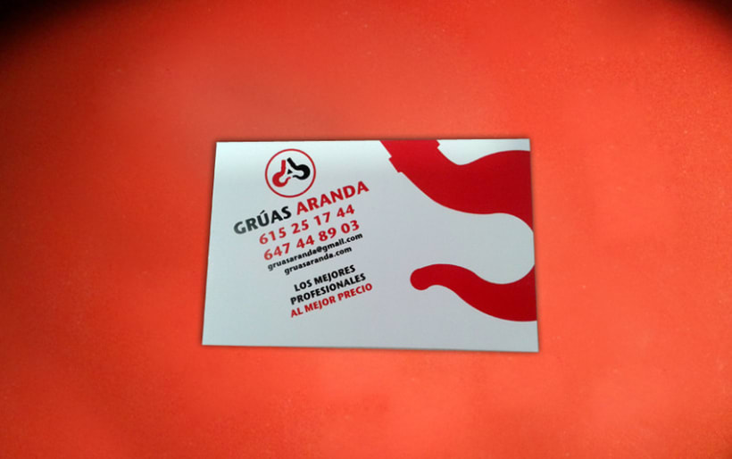 Logotipo Grúas Aranda 1