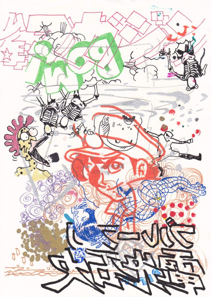 dibujos 2014 2