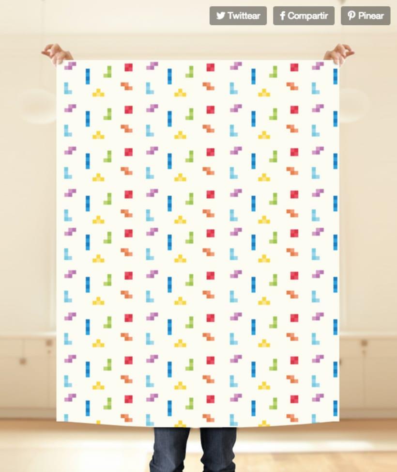 Tetris pattern 8