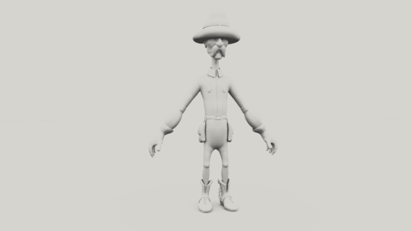 Luigi character Modeling and Texturing 3D in Autodesk Maya  2