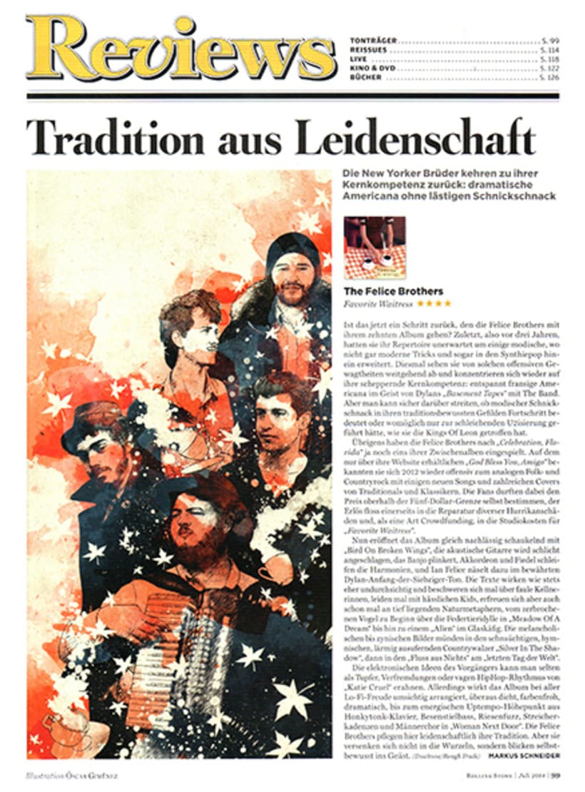 Rolling Stone Germany :: The Felice Brothers 2