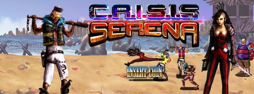 C.R.I.S.I.S Serena (Videojuego Arcade - Beat 'em up) 0