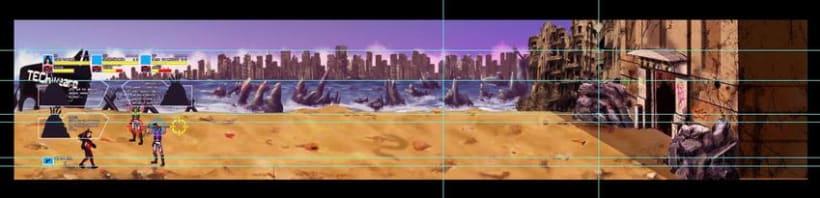 C.R.I.S.I.S Serena (Videojuego Arcade - Beat 'em up) 2