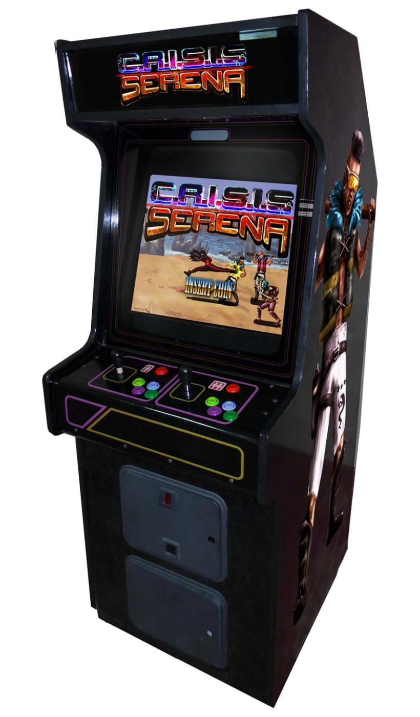 C.R.I.S.I.S Serena (Videojuego Arcade - Beat 'em up) 1