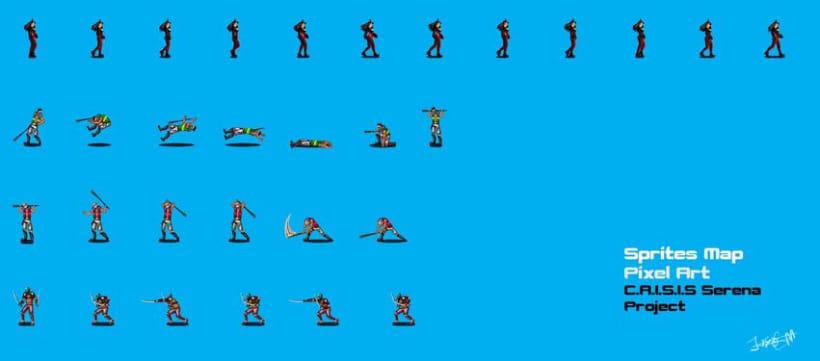 C.R.I.S.I.S Serena (Videojuego Arcade - Beat 'em up) 9