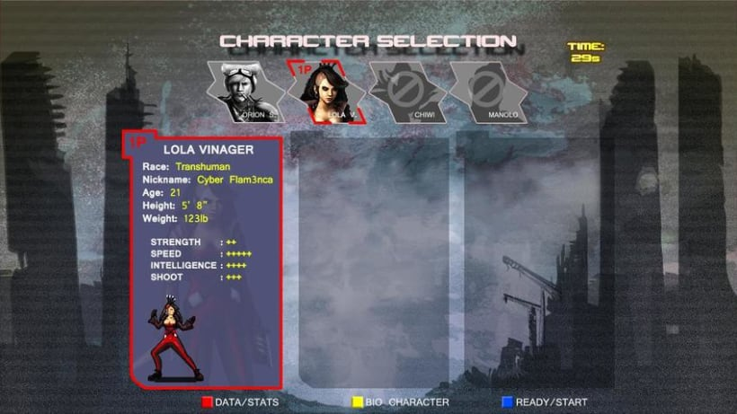 C.R.I.S.I.S Serena (Videojuego Arcade - Beat 'em up) 10