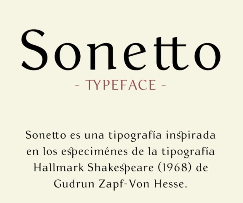 Sonetto | Font 2