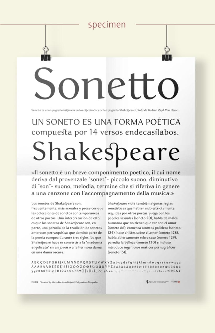 Sonetto | Font 5