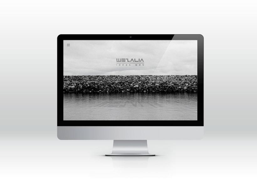 Wezalia. Desarrollo web. 0