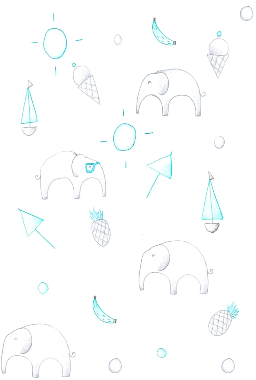 I DREAM ELEPHANTS  2