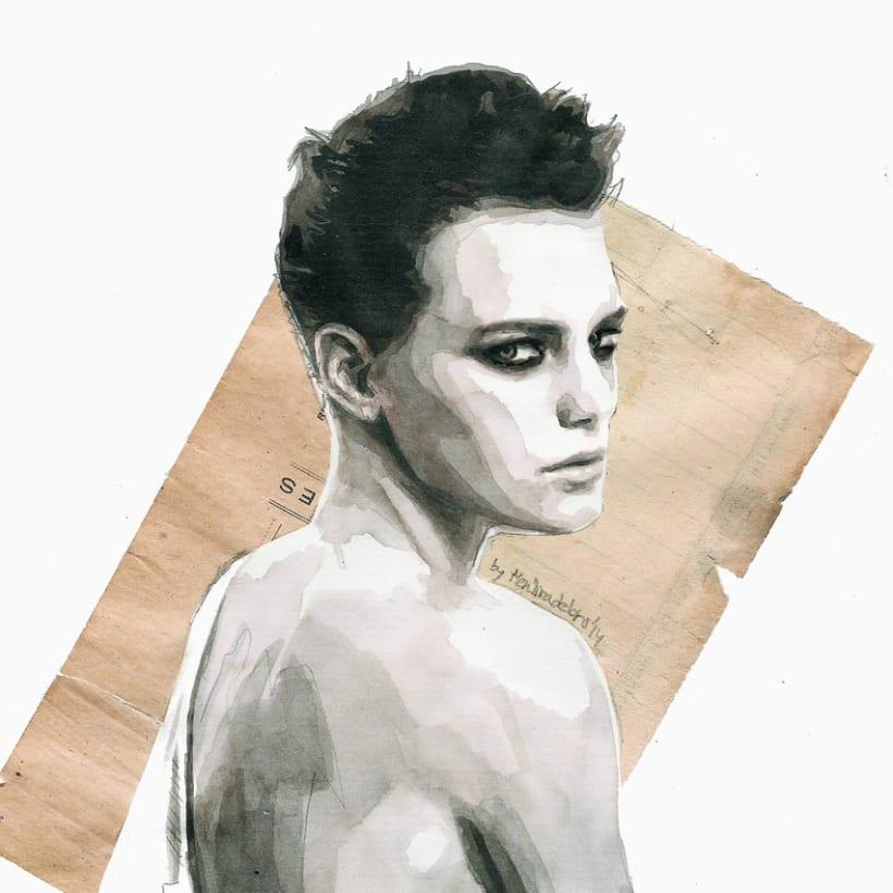 Handmade love (portrait of Erika Linder) 1