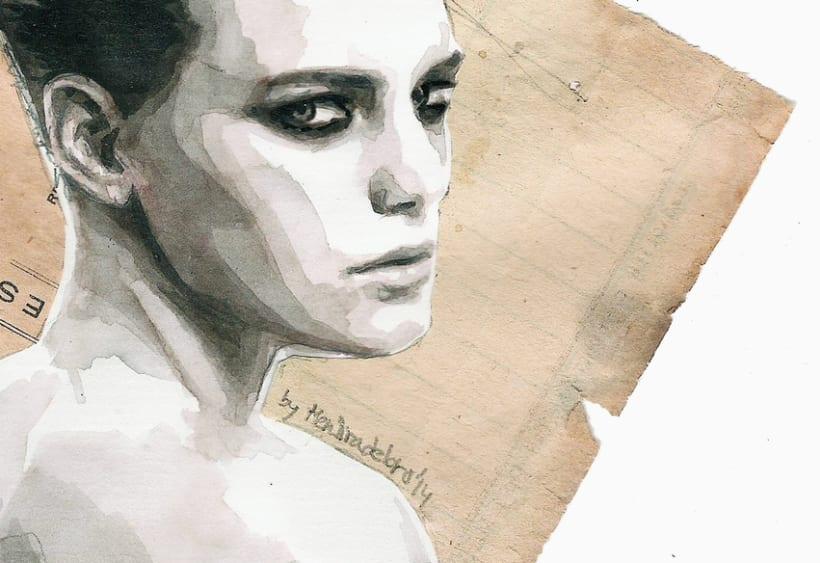 Handmade love (portrait of Erika Linder) 2