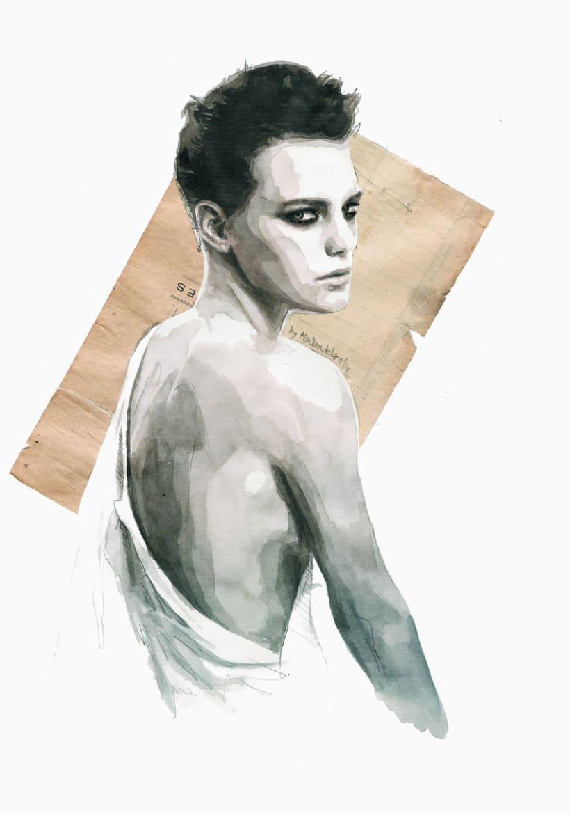 Handmade love (portrait of Erika Linder) 0