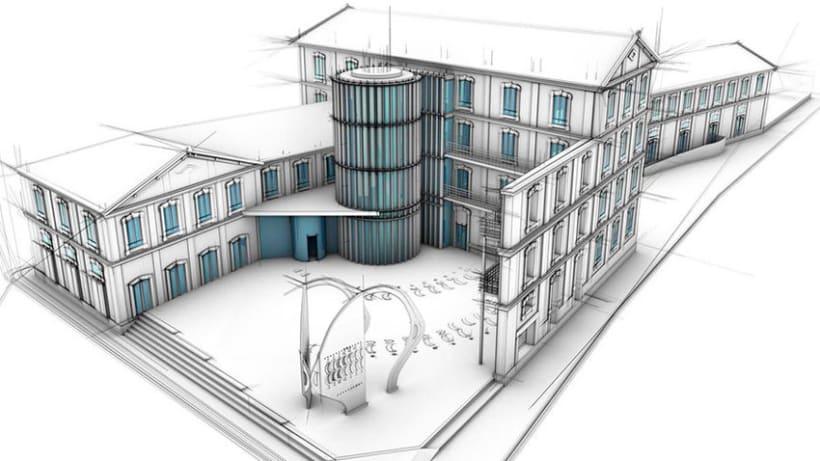 arquitectura 3d domestika