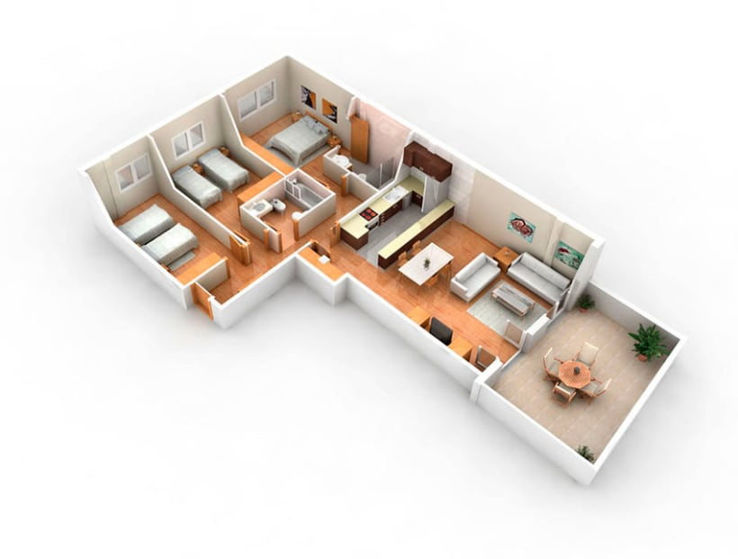 Arquitectura 3D 16