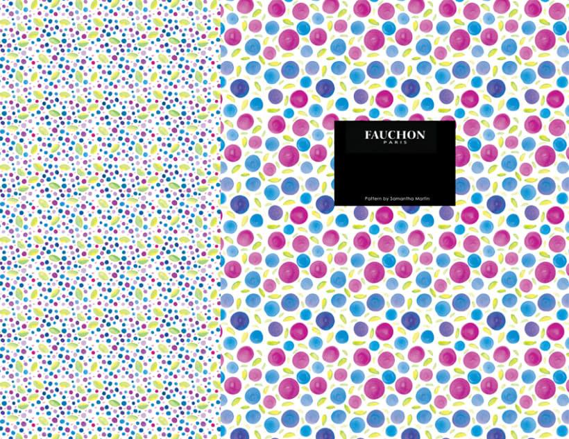 Papel / Packaging para mermelada de arándanos Fauchon Paris 10