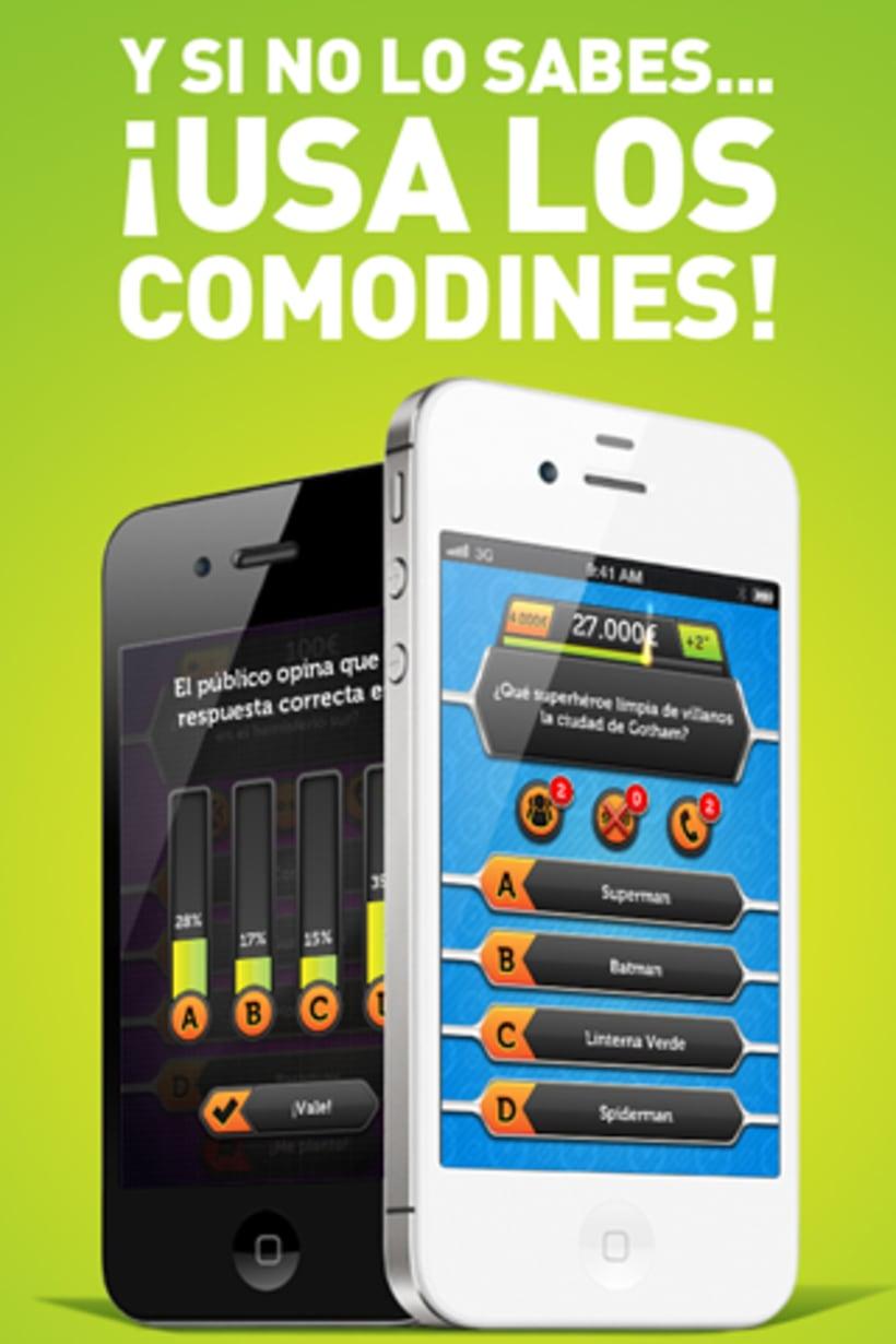 App Millonario para iOs y Android 4