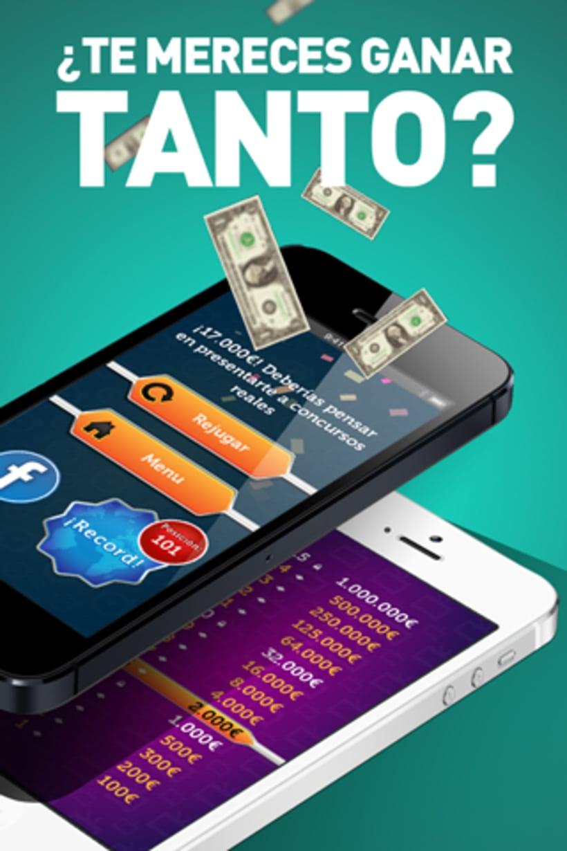 App Millonario para iOs y Android 5